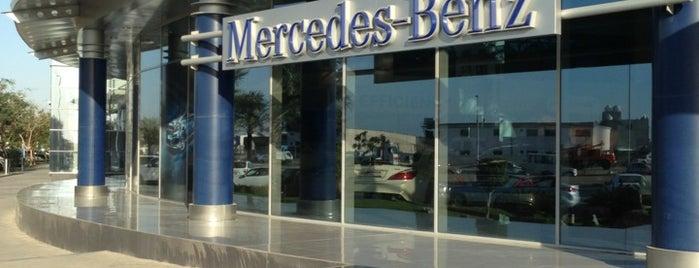 Emirates Motor Company - Mercedes is one of Lugares favoritos de Fatma.