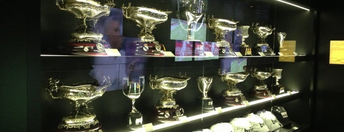 Museo Real Madrid is one of Lugares guardados de Fabio.