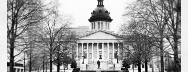 South Carolina State House is one of Lieux qui ont plu à M.
