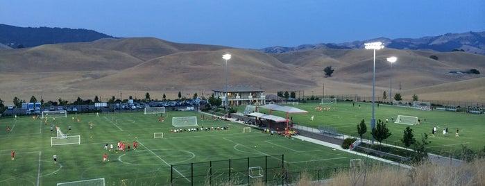 Mustang Soccer Complex is one of Orte, die Jim gefallen.