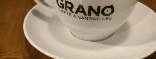 Grano Coffee & Sandwiches is one of Lieux sauvegardés par Tansel Arman.