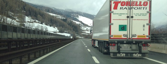 Brenner Autobahn is one of Ratschings Jaufen / Racines Giovo.