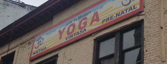 Life in Motion: Yoga Cycling Barre is one of My NYC.