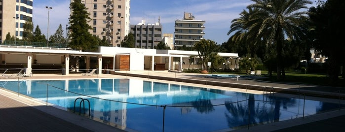 Hilton Cyprus is one of Begoさんのお気に入りスポット.