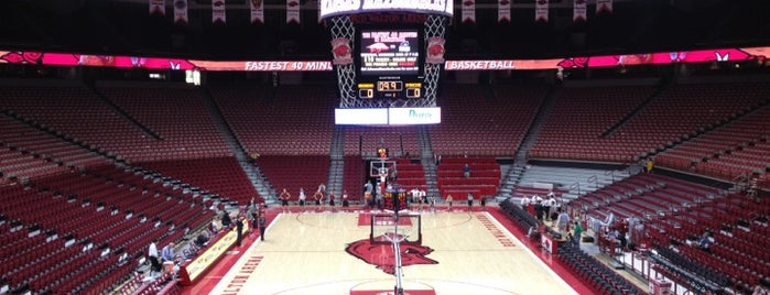 Bud Walton Arena is one of Events To Visit....