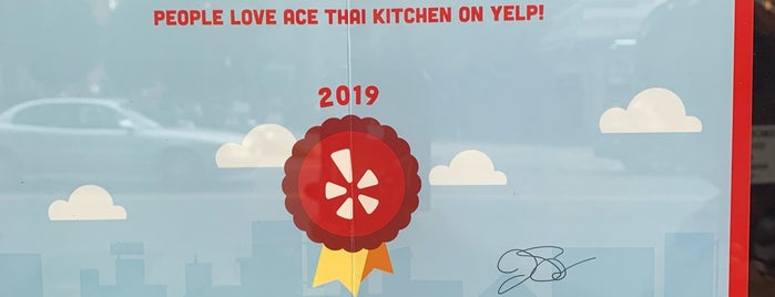 Ace Thai Kitchen is one of New: NYC 🆕.
