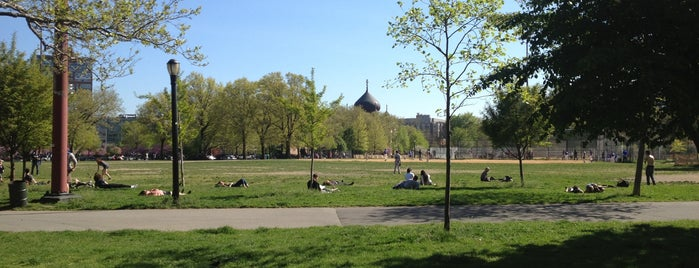 McCarren Park is one of USA NYC BK Williamsburg.