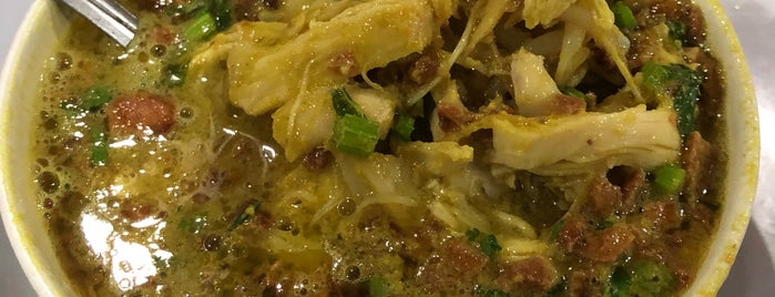 "Nasi Gandul ""Bu Endang"" Khas Kota Pati is one of Food!!."