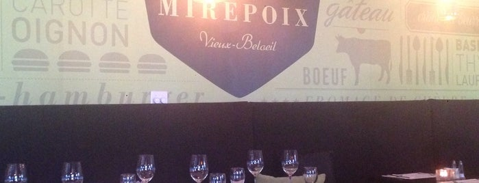 Bistro Mirepoix is one of Bons Resto.