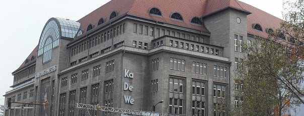 Kaufhaus des Westens (KaDeWe) is one of Must Do: Berlin.