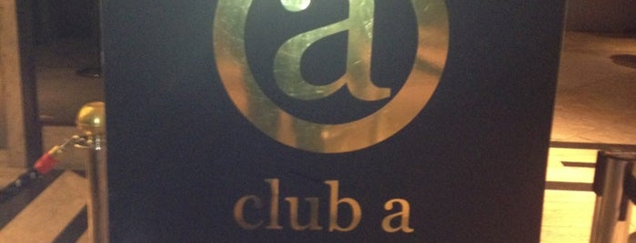 Club A São Paulo is one of To na night.
