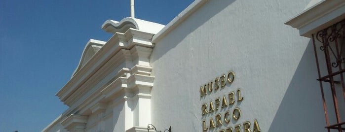 Museo Larco Herrera is one of Lugares guardados de Fabio.