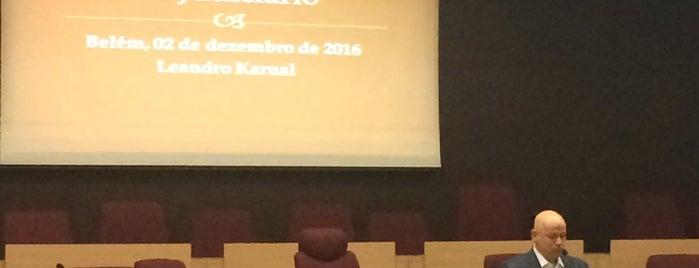 Auditório do TRT8 is one of Locais curtidos por Zahlouth.