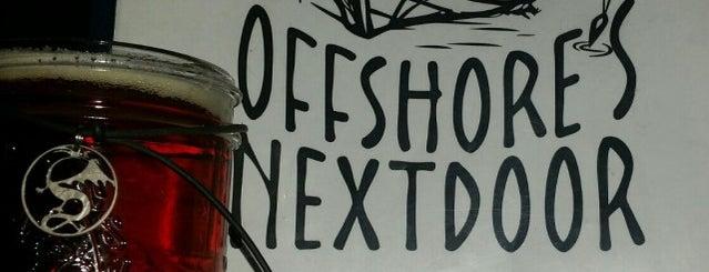 offshores next door is one of Kat 님이 저장한 장소.