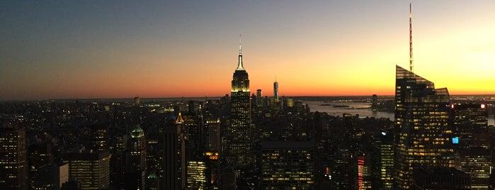 Rockefeller Center is one of Tempat yang Disukai Mariana.