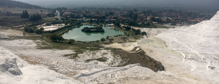 Pamukkale Travertines is one of Olena's Liked Places.