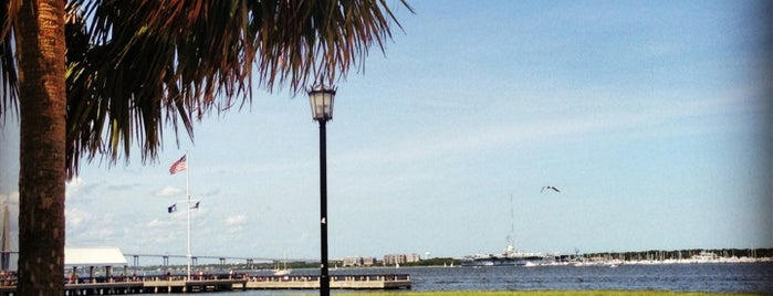 Waterfront Park is one of Charleston 2021.