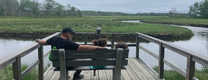 Rachel Carson National Wildlife Refuge is one of Tempat yang Disukai Eric.
