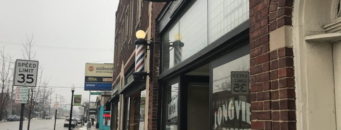 Longview Barber Shop is one of Lugares favoritos de Nuno.