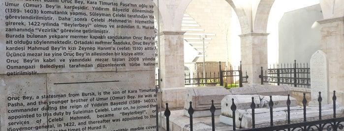 Oruç Bey Türbesi is one of Osmangazi | Spiritüel Merkezler.