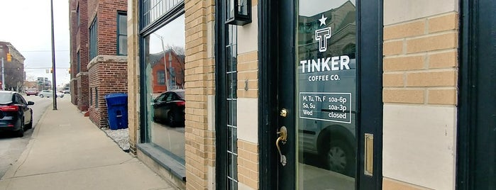 Tinker Coffee Co. is one of Indianapolis coffee.