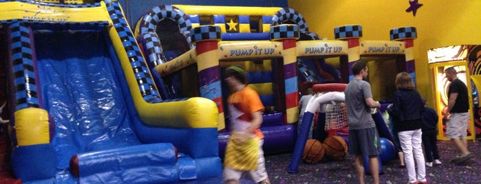 Pump It Up is one of Family Fun.