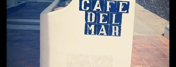 Café del Mar is one of Ibiza EDM Summer.