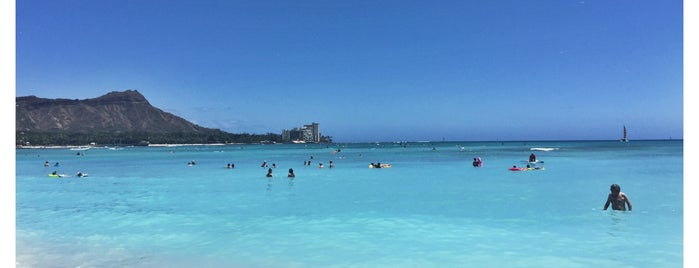 Waikīkī Beach is one of California Love.