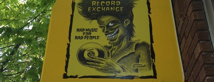 The Record Exchange is one of Music Arts & Culture.
