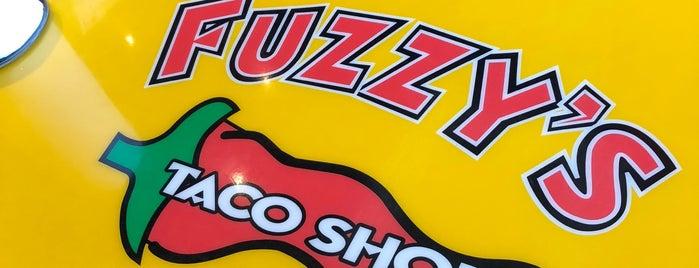 Fuzzy's Taco Shop is one of Tempat yang Disukai Brett.