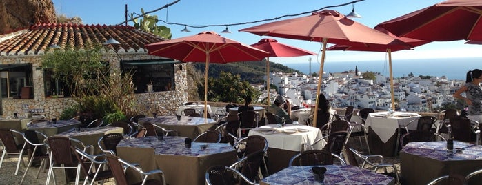Restaurante El Mirador De Frigiliana is one of Spain.