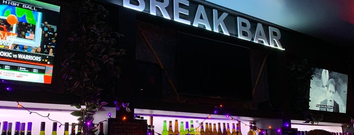 Break Bar is one of Arjun'un Beğendiği Mekanlar.