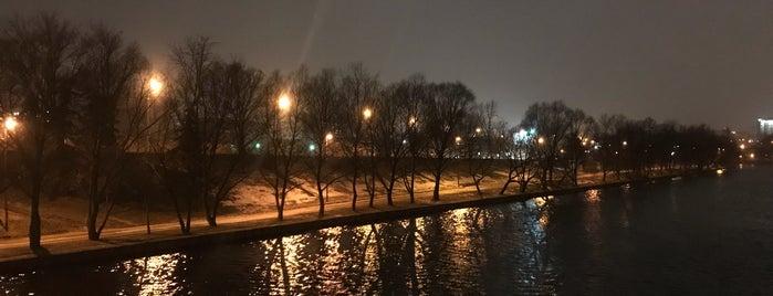 Набережная реки Свислочь is one of Ali 님이 저장한 장소.
