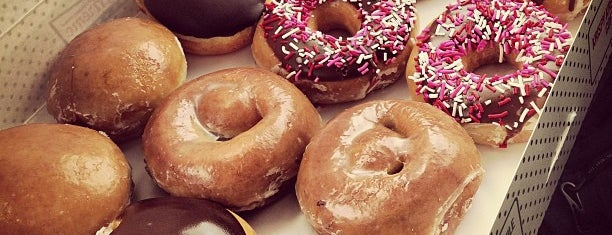 Krispy Kreme Doughnuts is one of Been To.
