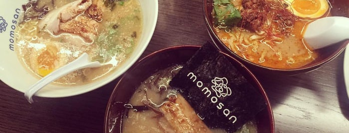 Momosan Ramen & Sake is one of NYC.