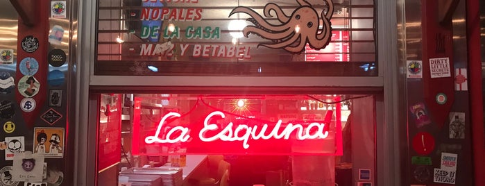 La Esquina is one of K's Recs.
