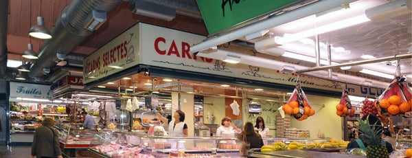 Mercat de Sant Gervasi is one of Reina 님이 좋아한 장소.