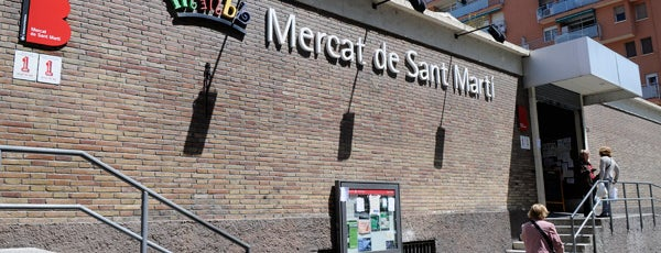 Mercat de Sant Martí is one of Reinaさんのお気に入りスポット.