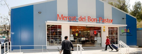 Mercat Municipal del Bon Pastor is one of Mercats Municipals de Barcelona.