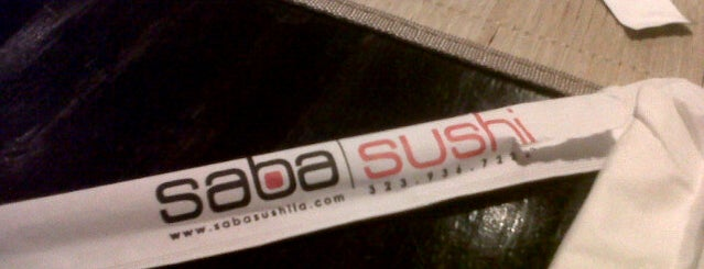 Saba Sushi is one of L.A, bro..