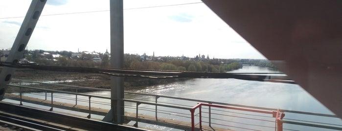 Митяевский мост is one of Oleg'in Beğendiği Mekanlar.
