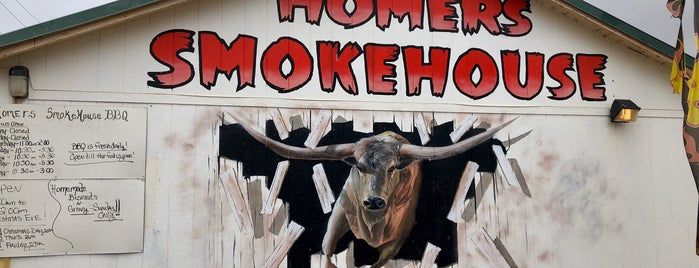Homer's Smokehouse Bbq is one of Arizona.