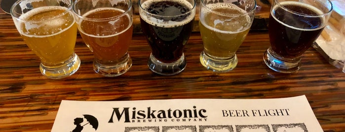 Miskatonic Brewing Company is one of Todo: Chicago.