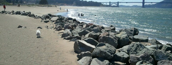 Crissy Field Dog Run is one of Dog Friendly SF.