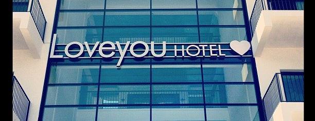 Loveyou Hotel is one of Lugares favoritos de Serap.