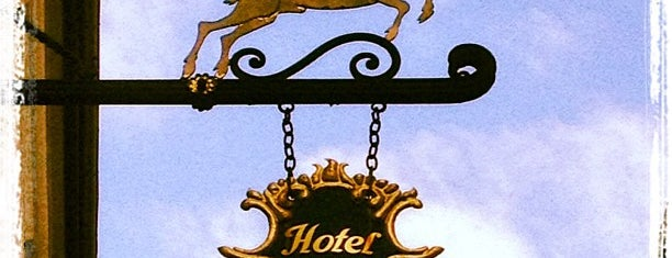 Hotel Goldener Hirsch is one of The Dog's Bollocks' Salzburg.