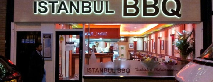 Istanbul BBQ is one of Locais curtidos por Carl.