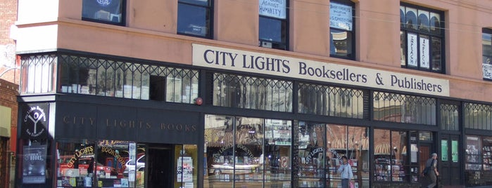 City Lights Bookstore is one of Most Incredible Bookstores in the World.