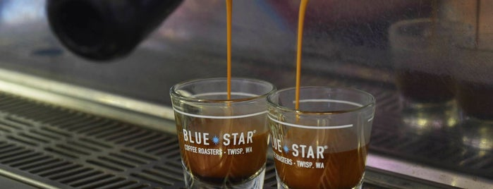 Blue Star Coffee Roasters is one of Pacific Northwest Coffee State of Mind.