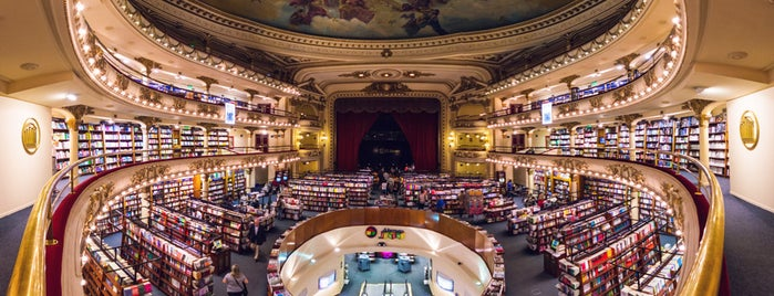El Ateneo Grand Splendid is one of Most Incredible Bookstores in the World.